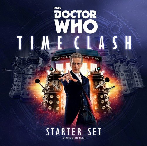 Cubicle 7 Dr Who Time Clash Starter Set Board Game (4 Player)