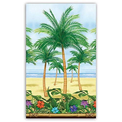 Amscan Palm Trees Party Scene Setter Room Roll (Palm Tree Room Roll)