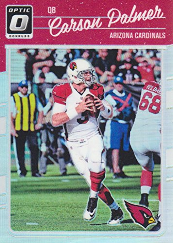 - 2016 Donruss Optic Football Holo #1 Carson Palmer Arizona Cardinals