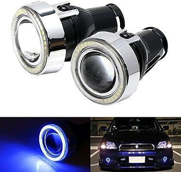 "For Sierra 3/"" High Power Neon Halo Super White Projector Driving Fog Light Set"