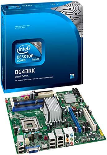 Chip Set 775 Socket (Classic DG43RK Desktop Motherboard - Intel Chipset)