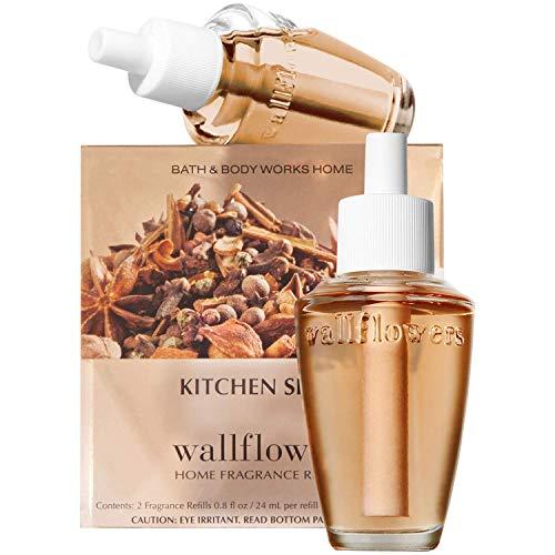Bath & Body Works Kitchen Spice Wallflowers Home Fragrance Refills, 2-Pack (1.6 fl oz total)