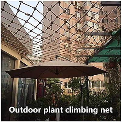 Zairmb Red de Seguridad para niños Red de Seguridad de balcón Red de jardín Decoración de Tipo de Red de Cuerda de cáñamo Fácil instalación Y Red de escalada-1x1m: Amazon.es: Hogar