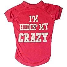 "MuttNation Fueled by Miranda Lambert ""I'm hiding my crazy"" Tee - Medium"