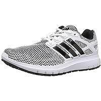 adidas Men's Energy Cloud m Running Shoe, Utility Black/White/Black, 10.5 Medium US