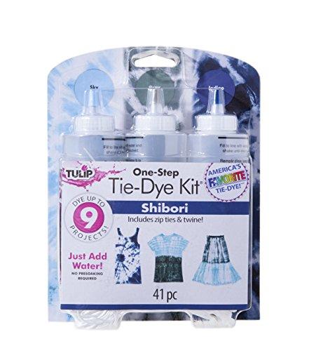 Tulip 38450 One-Step Tie-Dye Kit Fabric, Shibori by Tulip