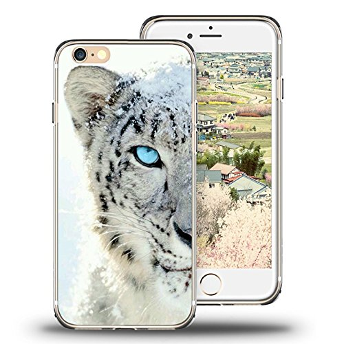 iPhone 6s Case Viwell iPhone 6/6s (4.7 Inch) Case, 2015 Unique Design fashionable Protective Cover Snow leopard (Leopard Apple Tiger)