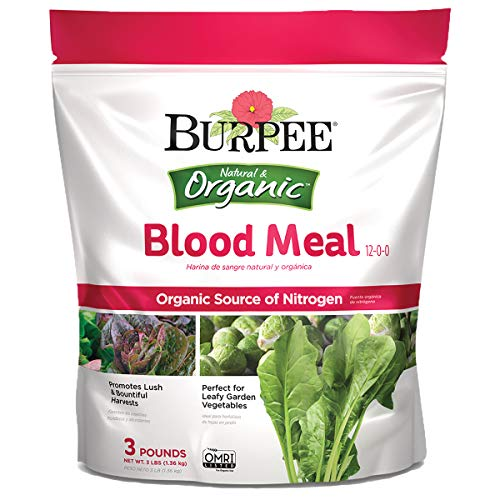 Burpee Organic Blood Meal Fertilizer, 3 lb