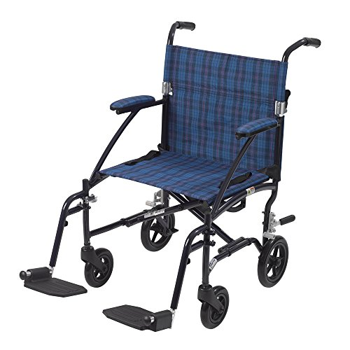 Fly-Lite Transport Chair Blue 19 ()