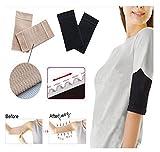 Ultra-Thin Wave Arm Slimming Shapewear Massage Sleeve by SiamsShop