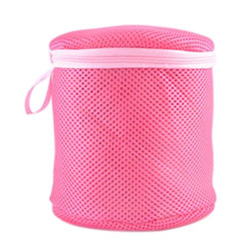 Yamalans Women's Underwear Bra Laundry Mesh Wash Basket Net Washing Storage Zipper Bags size Round