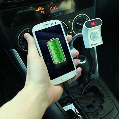 Bmw Z4 Price In Dubai: Excelvan® Bluetooth FM Transmitter For Wireless Handsfree