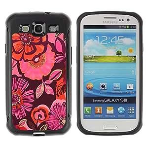 Suave TPU GEL Carcasa Funda Silicona Blando Estuche Caso de protección (para) Samsung Galaxy S3 III I9300 / CECELL Phone case / / Colorful Pink Orange Fuchsia Fashion /