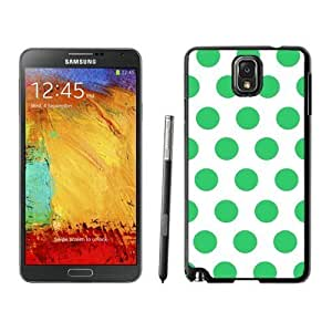 Hu Xiao Polka Dot White and Green Samsung Galaxy Note VtBT22HMmLZ 3 case cover Black Cover From Suppliersale