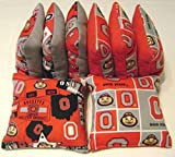Ohio State Buckeyes Cornhole Bean Bags Osu Bucks 8 Top Quality Tailgate Toss