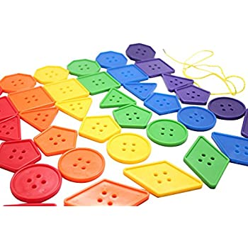 Amazon.com: Lacing Buttons: Toys & Games