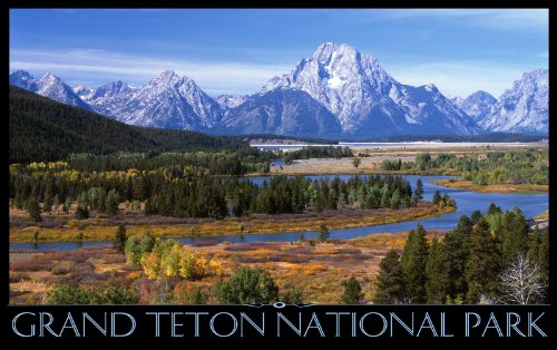 Northwest Art Mall Grand Tetons National Park Snake River Overlook MSR Wall Art by IKE Leahy, 11 by ()