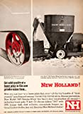 1964 Ad New Holland Machine Grinder Mixer Farm Equipment Machinery Speery Rand - Original Print Ad