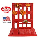 Tim Mee Brick Building Under Attack - Plastic Army Men Playset Accessory