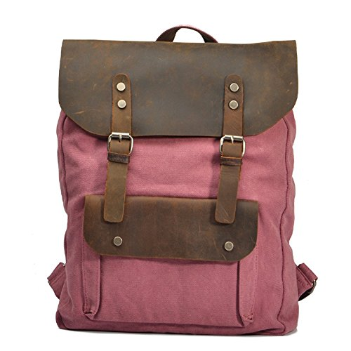 Sac fille à plein bandoulière cuir en à sac pour de unisexe College air Daypacks Hundred double à Red toile loisirs dos Uk Match en dos Randonnée Sac Camping de Sacs xYXIOSx