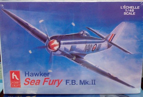 Hobby Craft Hawker Sea Fury F.B.MK.II HC1583 1/48 plastic, used for sale  Delivered anywhere in USA