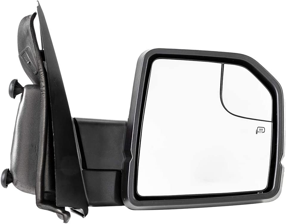 AUTOMUTO Towing Mirror Left Right Side View Mirror with Power Heated Turn Signal Fit Compatible with 2015-2018 Ford F150