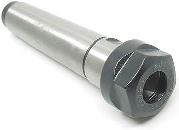 Collet chuck DN65 Carbon Steel Lathe ER20 MT3 Receptacle M12 CNC Extension Rod