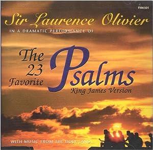 Audio CD The 23 Favorite Psalms (King James Version) Book