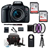 Canon EOS Rebel T7i DSLR Camera w/18-55mm Lens + Filter kit & 32GB Accessory Bundle Review