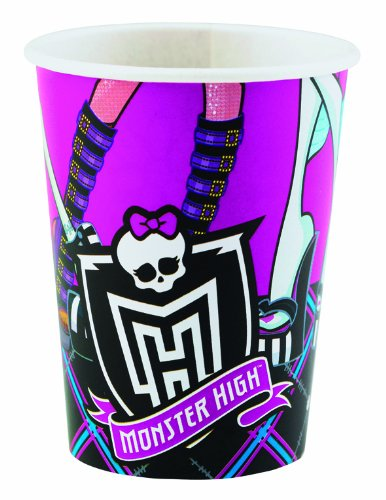 Amscan International 025 Litre Monster High 8 Cups