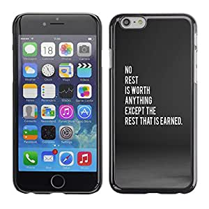 Stuss Case / Funda Carcasa protectora - sauf le repos qui est gagné - iPhone 6