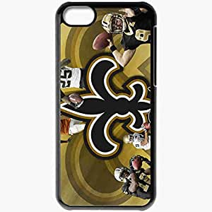 Personalized iPhone 5C Cell phone Case/Cover Skin 1384 new orleans saints Black by lolosakes