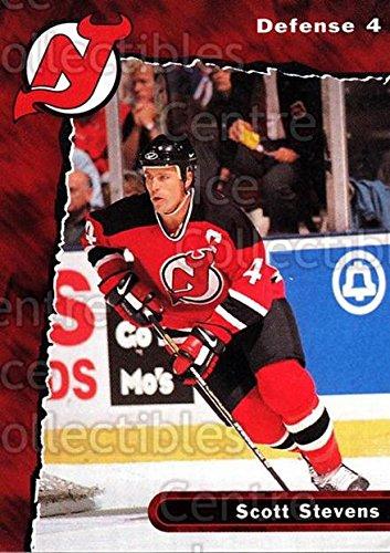 ((CI) Scott Stevens Hockey Card 1997-98 New Jersey Devils Team Issue 4 Scott Stevens)