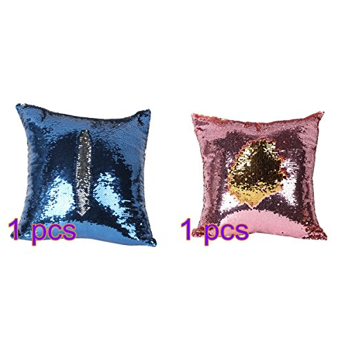 Tinksky Glitter Sequins Changing Pillowcase