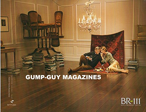 Magazine Print Ad From 2008 For BR-111 EXOTIC HARDWOOD FLOORING FASHION UNDER FOOT FEATURED: FAZENDA BRAZILIAN WALNUT