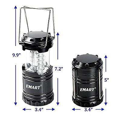 Emart 2 x 30 LED Outdoor Bivouac Hiking Camping Lantern Night Fishing Light Lamp