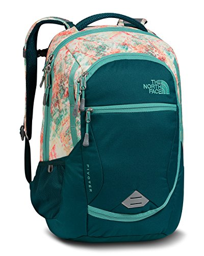 the-north-face-womens-pivoter-backpack-golden-haze-neon-geo-print-teal-blue