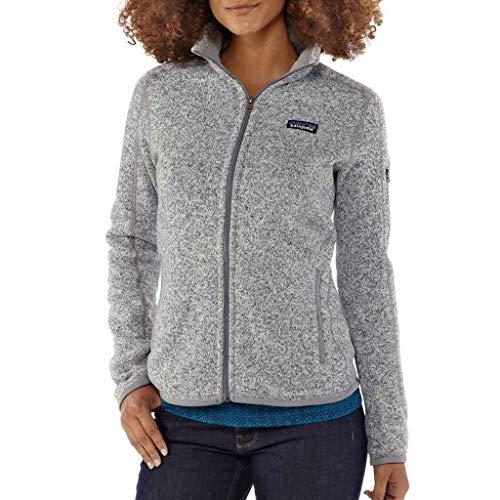 Patagonia Women's Better Sweater Fleece Jacket (Small, Black (BLK)) (Patagonia Womens Better Sweater Full Zip Hoody)