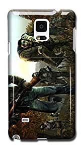 Tomhousomick Custom Design The Walking Dead Case for Samsung Galaxy Note 4 Phone Case Cover #100
