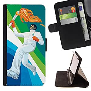 Jordan Colourful Shop - Design Olympic Fire For HTC Desire 820 - Leather Case Absorci???¡¯???€????€???????????