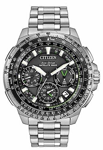 Citizen-Mens-Navi-Series-Quartz-Stainless-Steel-Casual-Watch-ColorSilver-Toned-Model-CC9030-51E