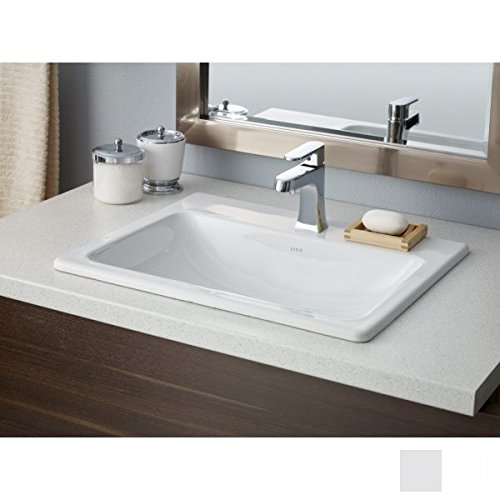 Cheviot Products Inc. 1187-WH-1 Manhattan Drop In Basin, 21 5/8'' x 17 3/4'', White by Cheviot Products Inc.