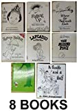 img - for Shel Silverstein's 8 Book Set: Where the Sidewalk Ends, A Light in the Attic, Falling Up, Lafcadio, The Missing Piece, the Giving Tree, Runny Rabbit, A Giraffe and a Half book / textbook / text book