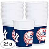 """""""New York Yankees Major League Baseball Collection"""" Plastic Party Cups"""