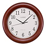La Crosse Technology WT-3122A 12 1/2-Inch Wood Atomic Analog Clock (Kitchen)