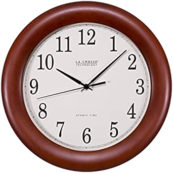 Amazon Com Seiko 12 Quot Round Wood Classic Wall Clock Home