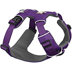 RUFFWEAR 2017 PURPLE FRONT RANGE DOG HARNESS ♦ ALL DAY TRAINING ADJUSTABLE ADVENTURE HARNESS ♦ ALL SIZES (XS)