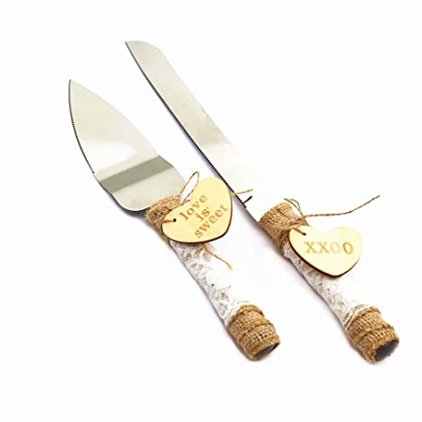 Amazon.com: TANG SONG - Juego de 2 cuchillos rústicos para ...
