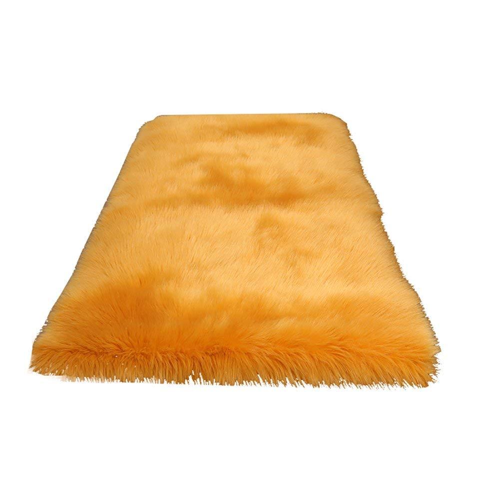 居間の寝室のベッドサイドのカーペットの入口のドアマットのための滑り止めの敷物のマット(色:黄色、サイズ:70 * 200cm) B07SX2Q9KY Yellow 70*200cm