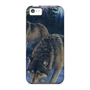 Roalmer QMenq1978iEfVp Case Cover Skin For Iphone 5c (hunters)